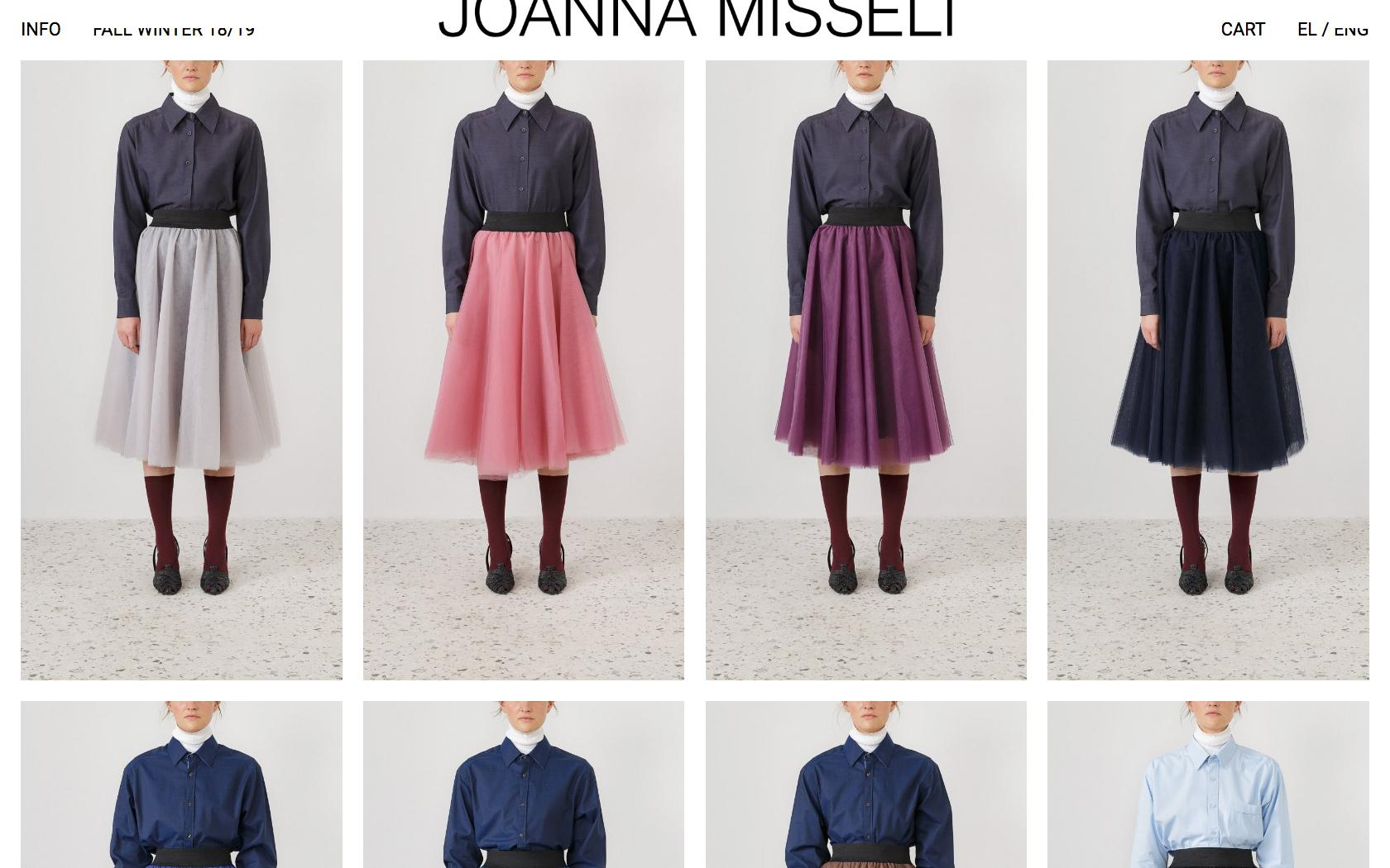 • Joanna Misseli – Creative direction + Visual identity + Website 3