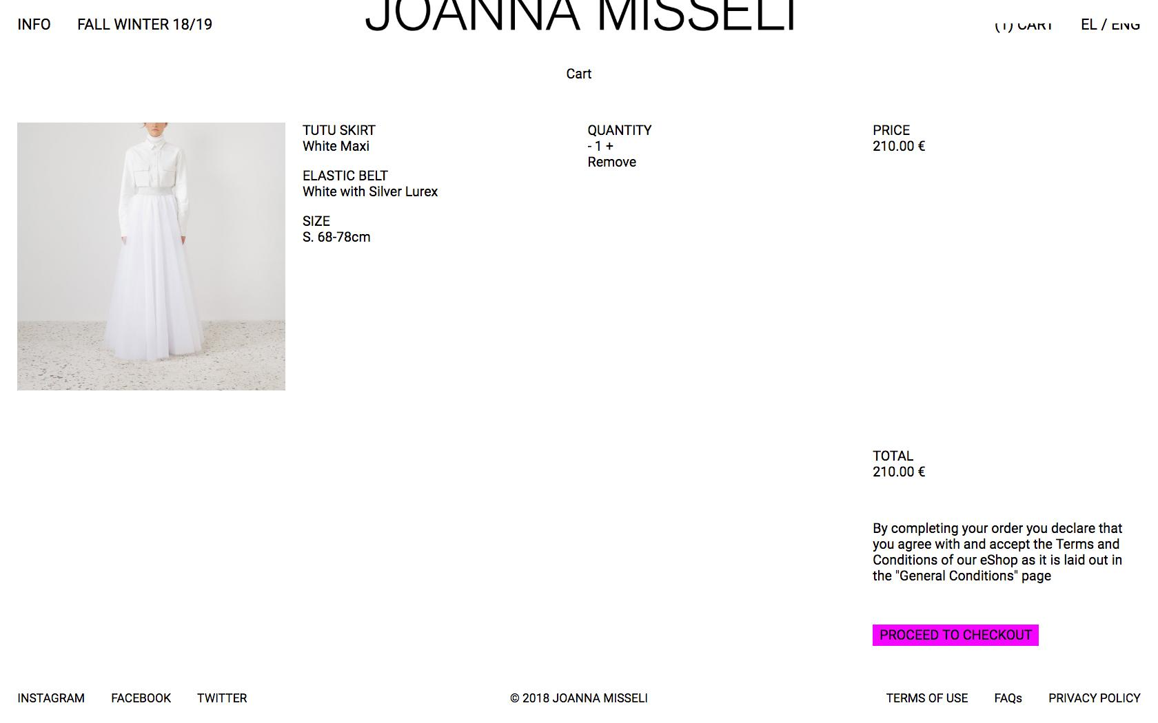 • Joanna Misseli – Creative direction + Visual identity + Website 7