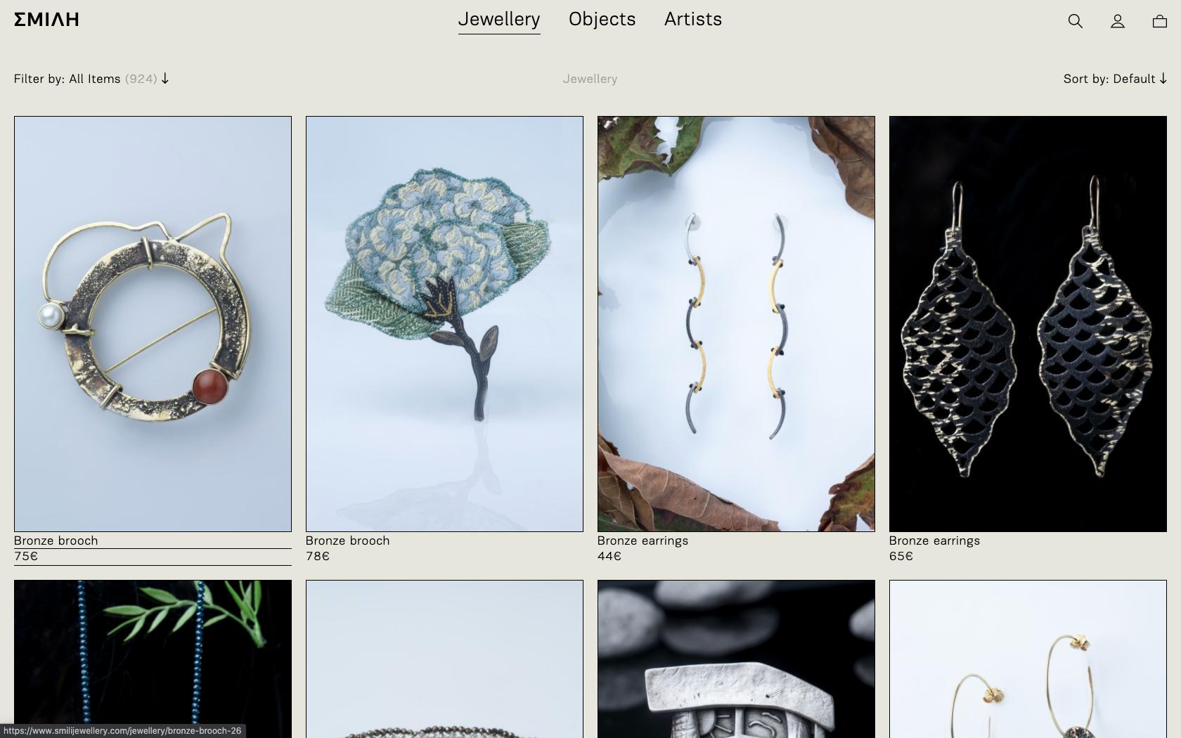 • ΣΜΙΛΗ Jewellery – Website 0
