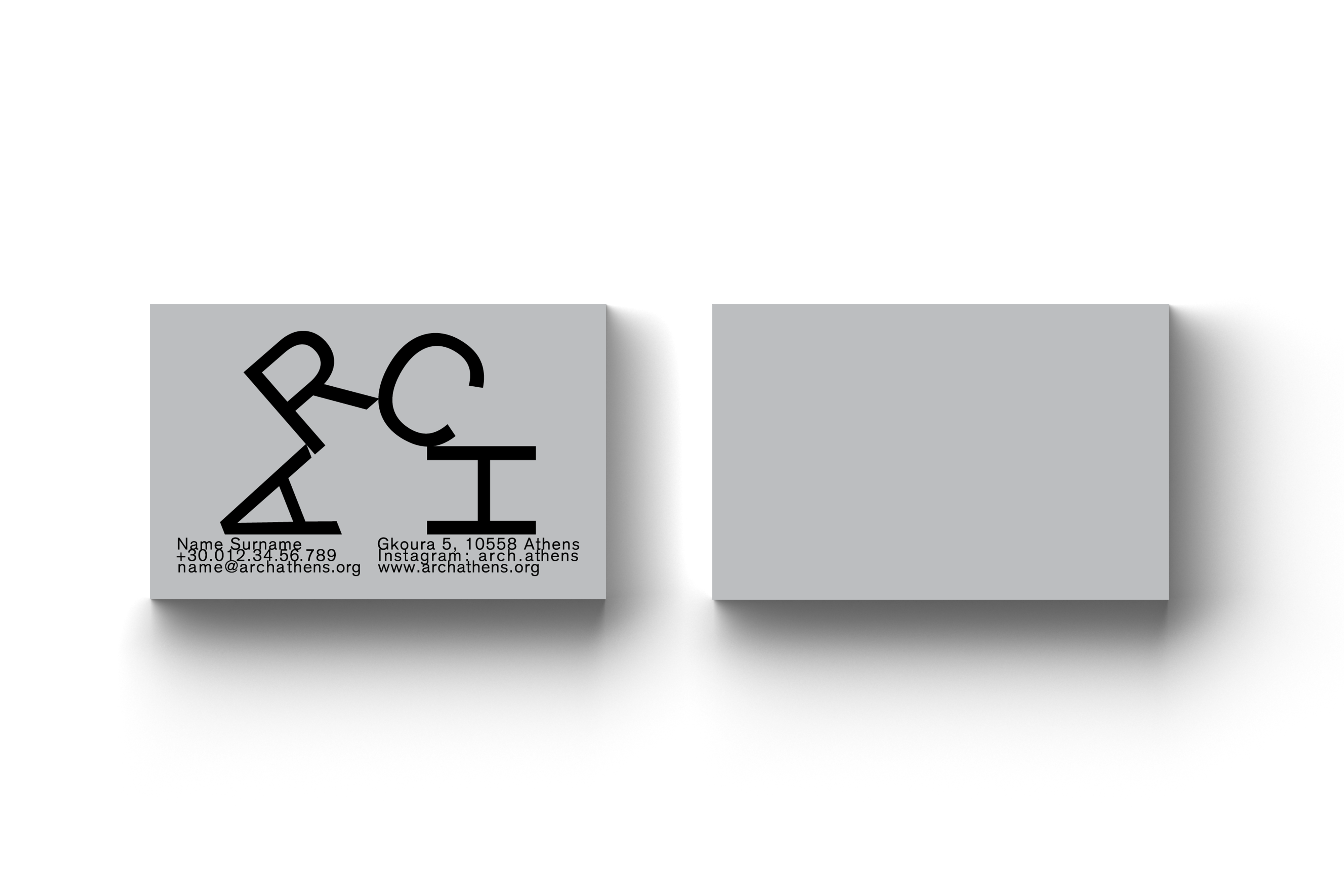 • ARCH – Visual identity + Website 2
