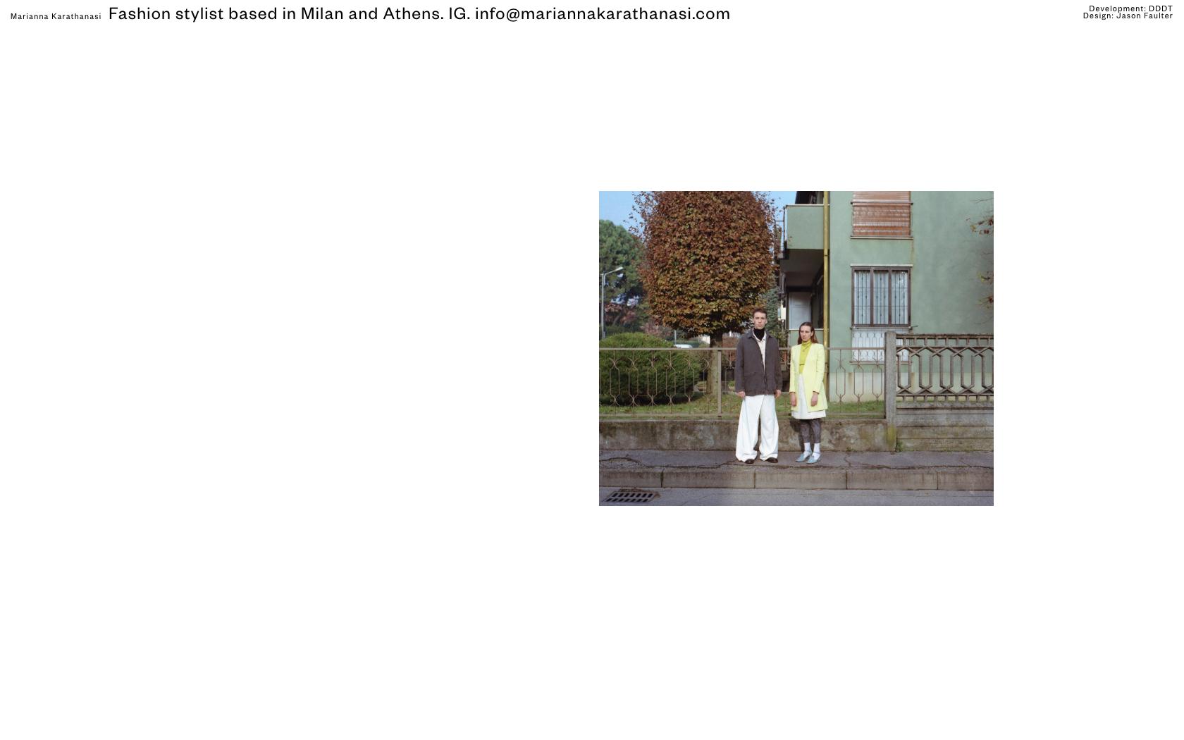 • Marianna Karathanasi – Website 0
